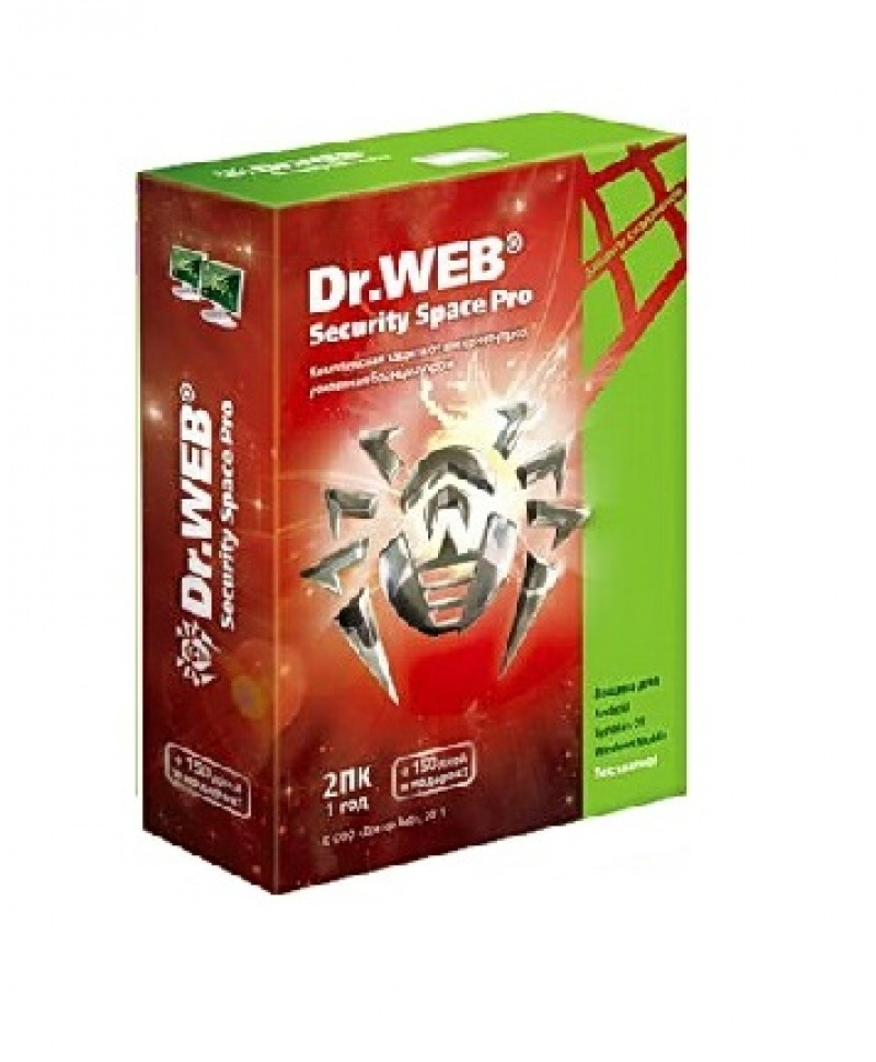 Антивирус Dr.Web Security Space Pro Box (1)
