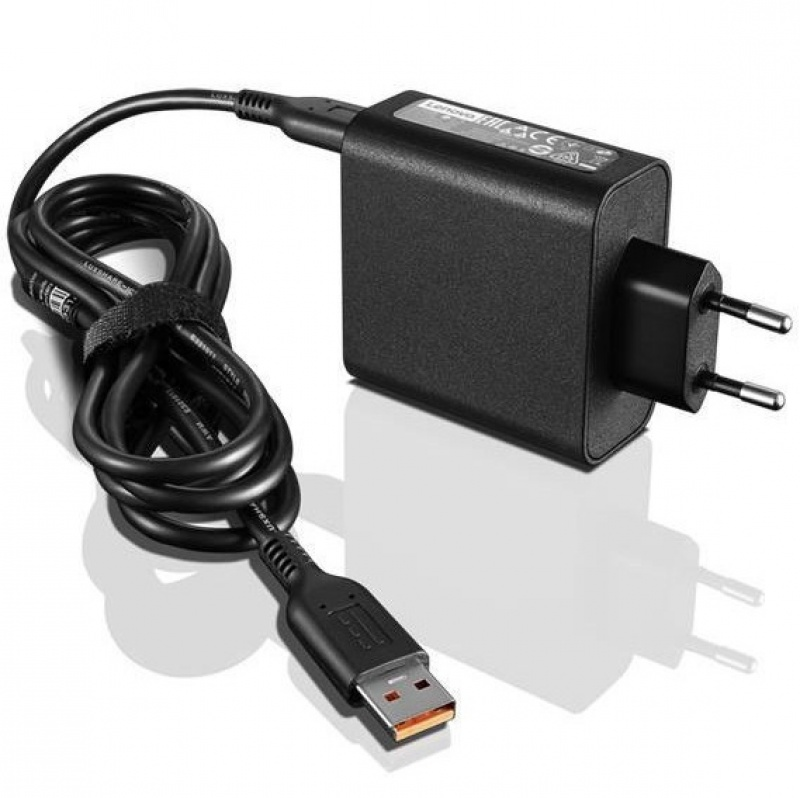 Адаптер Lenovo Adapter 65W Slim Travel AC (1)