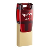 Apacer 32 GB USB 3.1 Type-C AH180 Red səbətdə