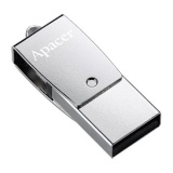 Apacer 32 GB USB 3.1 Gen1 micro USB AH750 Silver (Android) səbətdə