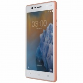 Telefon: Nokia 3 DS Copper White