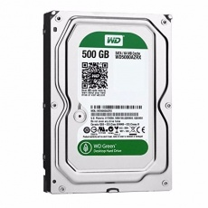 HDD: WD 500 GB WD500AZRX