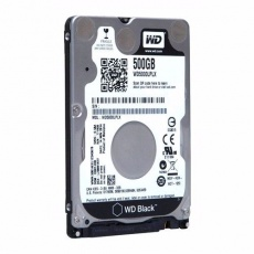 HDD: WD 500 GB 2.5