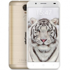 Телефон: ULEFONE TIGER Lite Golden
