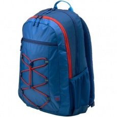 Çanta: HP 15.6 Active Blue/Red Backpack