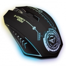 Mouse: SonicGear Wireless Gaming Mouse X-Craft Air 1000 Trek