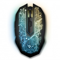 Mouse: SonicGear Wireless Gaming Mouse X-Craft Air 5000 Tron