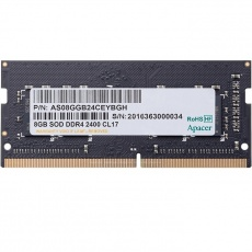 RAM: Apacer SODIMM 8 GB PC-4 DDR4 2400 MHz for NB