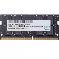 RAM: Apacer SODIMM 16 GB PC-4 DDR4 2400 MHz for NB