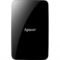 HDD: Apacer 2 TB USB 3.1 Portable Hard Drive AC233 Black