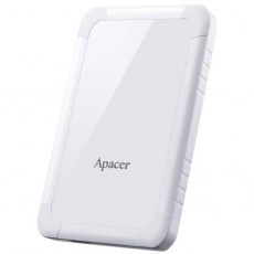 HDD: Apacer 2 TB USB 3.1 Gen 1 Portable Hard Drive AC532 White Shockproof