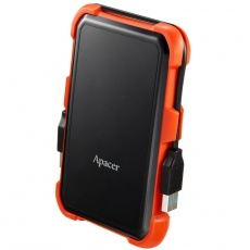 HDD: Apacer 2 TB USB 3.1 Portable Hard Drive AC630 Orange Shockproof