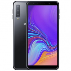 Телефон: Samsung Galaxy A7 2018 Black