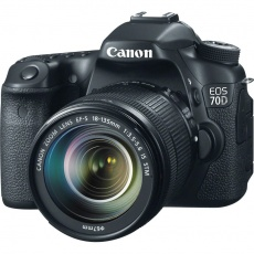 Fotoaparat: Canon EOS 70D EF-S 18-135mm f/3.5-5.6 IS STM Lens Kit