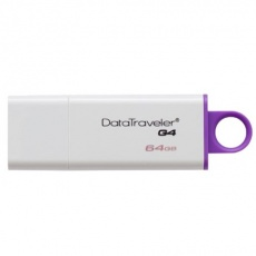 Флеш карту usb: Kingston 64GB USB 3.0 DataTraveler I G4