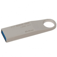 Флеш карту usb: Kingston 64GB USB 3.0 DataTraveler SE9 G2