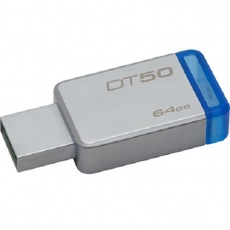 Флеш карту usb: Kingston 64GB USB 3.0 DT50