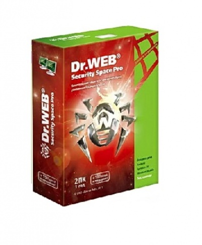 Dr.Web Security Space Pro Box