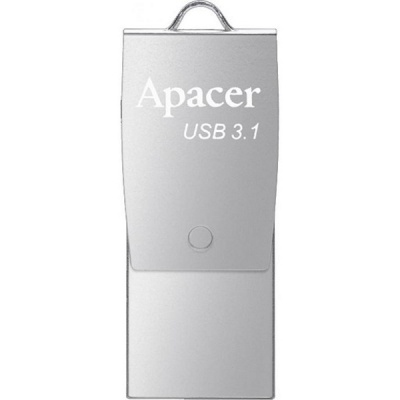 Apacer 32 GB USB 3.1 Gen1 micro USB AH750 Silver (Android)
