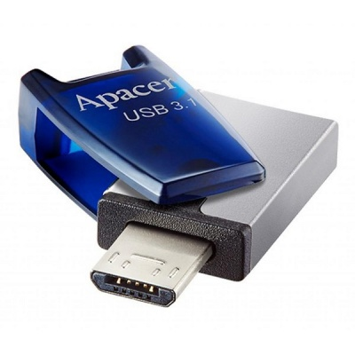 Apacer 32 GB USB 3.1 Gen1 micro USB AH179 Blue (Android)