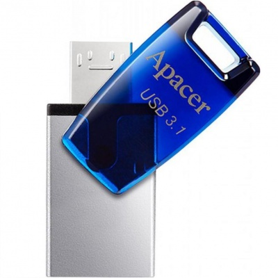 Apacer 16 GB USB 3.1 Gen1 micro USB AH179 Blue (Android)
