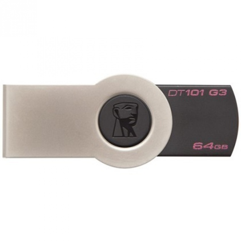Flesh kart Usb Kingston 64 GB USB 3.0 Data Traveler 101 G3 (1)
