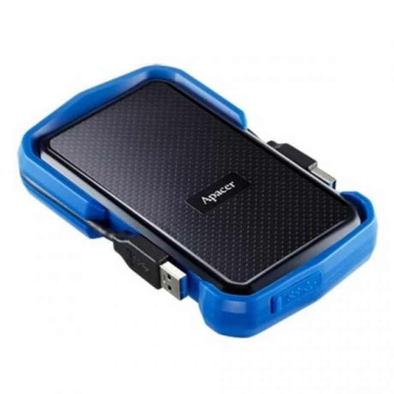 HDD Apacer 2 TB USB 3.1 Portable Hard Drive AC631 Blue Shockproof (3)